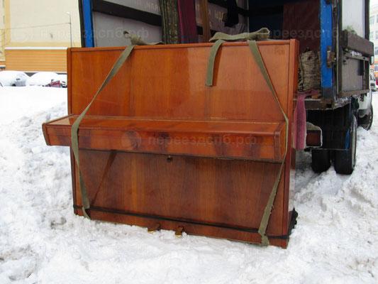 Грузоперевозка пианино