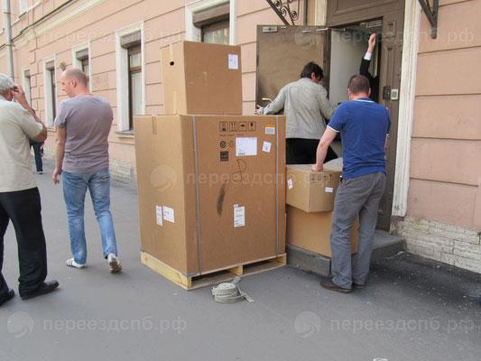 Офисный переезд в СПб