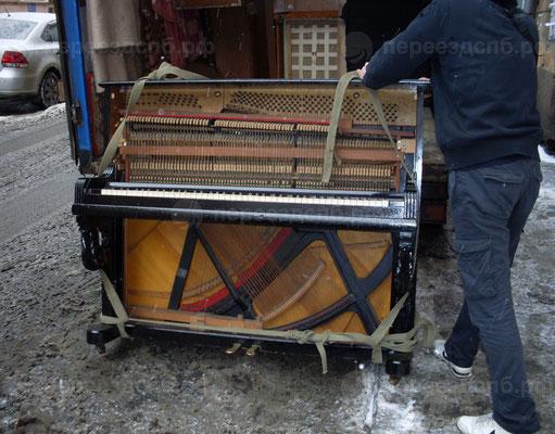 Перевоз пианино
