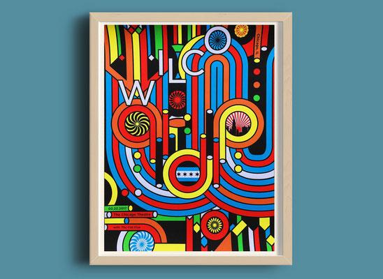 """""""Wilco - Winterlude 2017"""" by Nate Duval"""