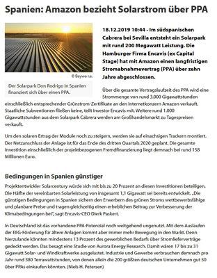 18.12.2019 https://www.photovoltaik.eu/gewerbe-kommune/aktuelle-meldungen-spanien-amazon-bezieht-solarstrom-ueber-ppa