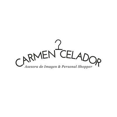 Creación de el logotipo para la personal shopper Carmen Celador.