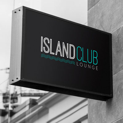 Diseño del Logotipo Island Club.