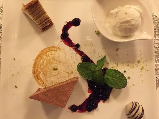 Desserkreation Cevedale