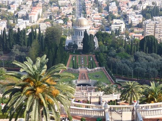 Baha'i gardens on Mt. Carmel