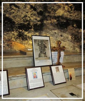 Elijah the prophet's cage in Stella Maris monastery
