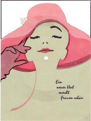 """Schallplatte """"Ein neuer Hut macht Frauen schön"""""""