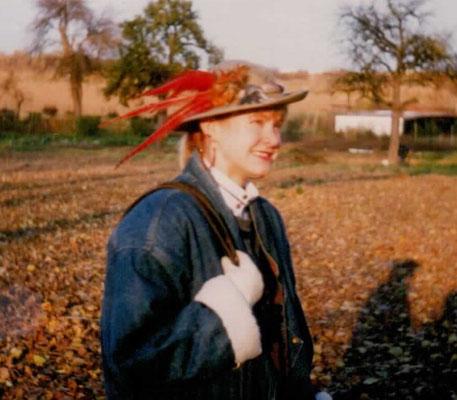 Stephanie Salm, damals noch Häfner, 1987