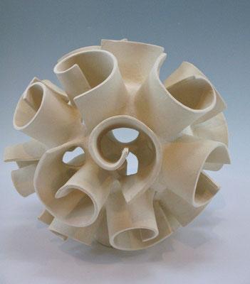 "Swirl Lantern (10"" 10"" x 10"")"