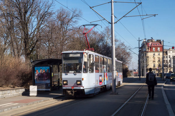 Old fashioned tram, Belgrade