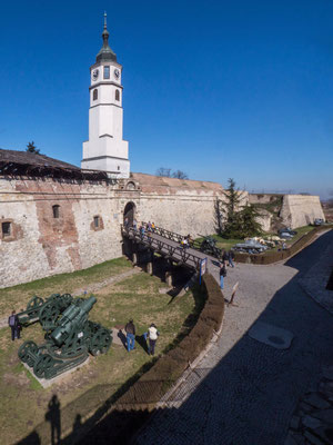 Kalemegdan fortress and Army museum, Belgrade