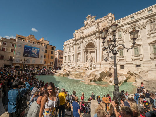 Trevi Fountain  [Rome, 2019]