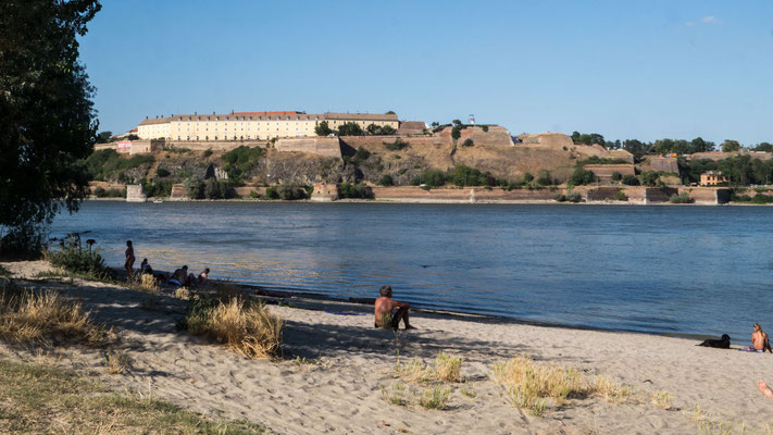 "Novi Sad, ""Wild Beach"", Danube and Fortress"
