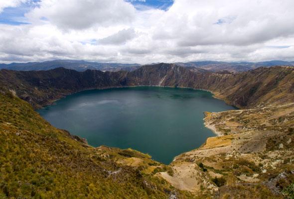 Quilotoa crater lake [Ecuador, 2009]