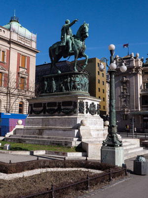 Main square, Belgrade