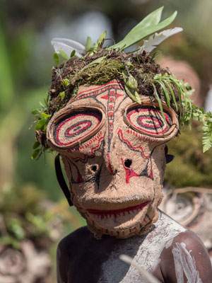 Mask festival in Kokopo, capital of East New Britain province in PNG