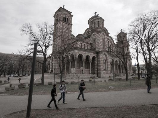 Crkva Svetog Marka church, Belgrade