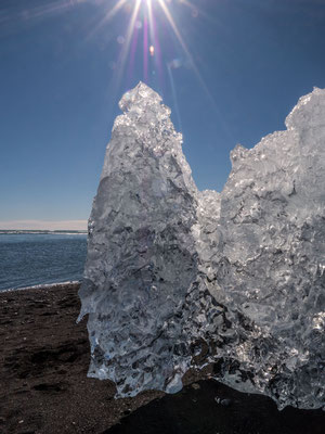 Glacier lagoon Jökulsárlón