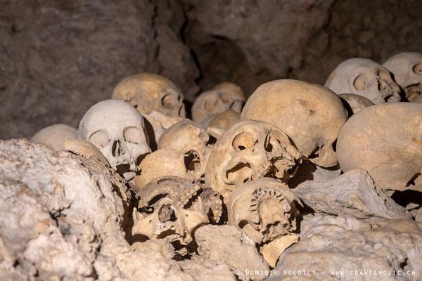 Skull cave - Milne Bay