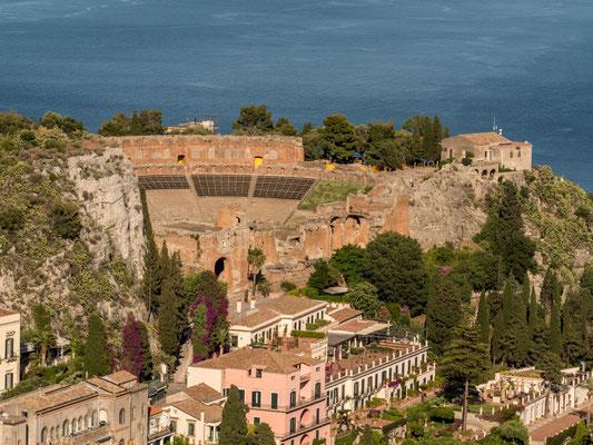 Siciliy, Taormina, Teatro Antico