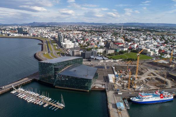 Reykjavik, Harpa (drone)