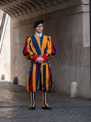 Swiss guard [Vatican city, Rome, 2019]