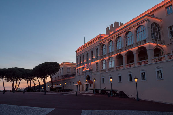 Monaco - Blue hour - Palace
