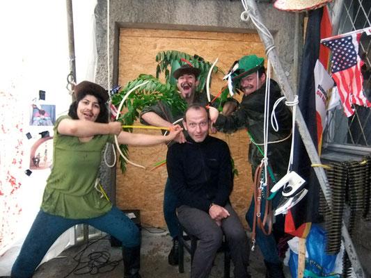 More risk, more fun! - Entführungsopfer - Performance mit Monster Truck / Sebastian K König / Berlin del Mar Festival