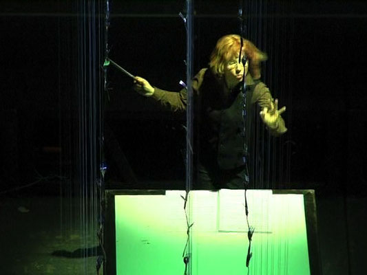 Codice Ovvio / szenisches Konzert / Regie - Sebastian K König, Christian Grammel / Ensemble Modern / schauspielfrankfurt