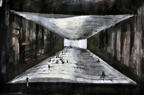 "RE-WAR - Bühnenskizze ""AUFEIS"" - Sebastian K König / Lea Walloschke / sagardía"