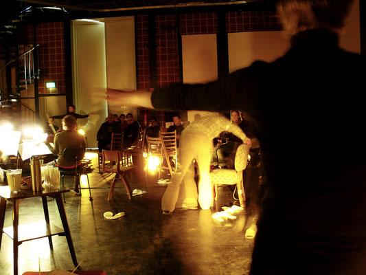 Hourglass / szenisches Konzert / Asasello Quartett / Regie - Sebastian K König, Christian Grammel / Musikfabrik, Köln