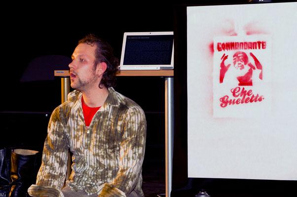 Che Gueletto / Lecture Performance / ring.award08 / König, Grammel, Zamastil, Tröndle
