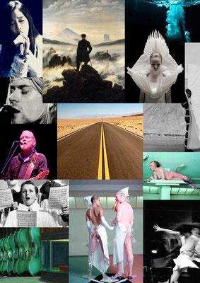 Kap Horn liegt auf Lee / Szenische Konzert-Installation / KOIKATE / LUX:NM / Theaterdiscounter Berlin / Moodboard