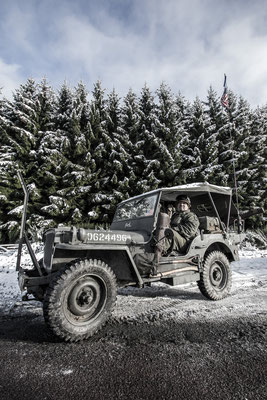 Bastogne 2014 - Reenactment - Jeep