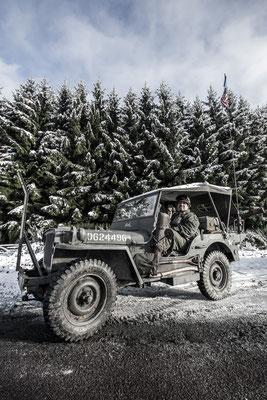 Bastogne - Nuts weekend 2014 - Reenactment - Jeep