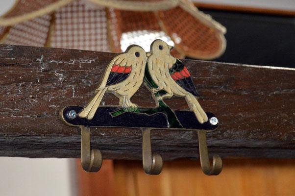 Accroche torchons - oiseaux rares en Lorraine
