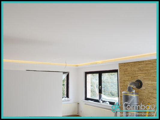 Indirekte Beleuchtung (Deckenausleuchtung) im Formteile Shop erhältlich.