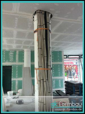Rundsäule mit Kabeldurchführung (Gewerbliche Nutzung)