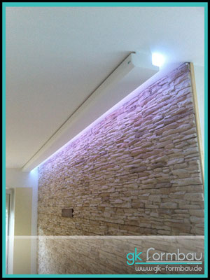 wandbeleuchtung indirekt selber bauen. Black Bedroom Furniture Sets. Home Design Ideas