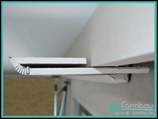 Montage Indirekte Beleuchtung (Deckenausleuchtung) im Formteile Shop erhältlich.