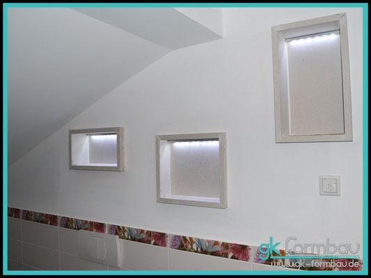 Einbaukasten Trockenbauwand/24,90 in unserem Formteile Shop (mit LED Beleuchtung)