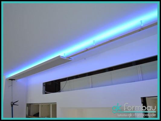 Indirekte Beleuchtung Bausatz Zoe im Formteile Shop erhältlich (Freihängende mit beidseitiger Ausleuchtung)