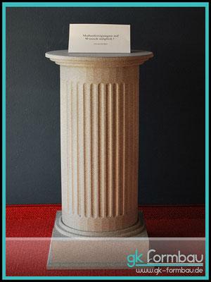 Antik Säule im Steinlook