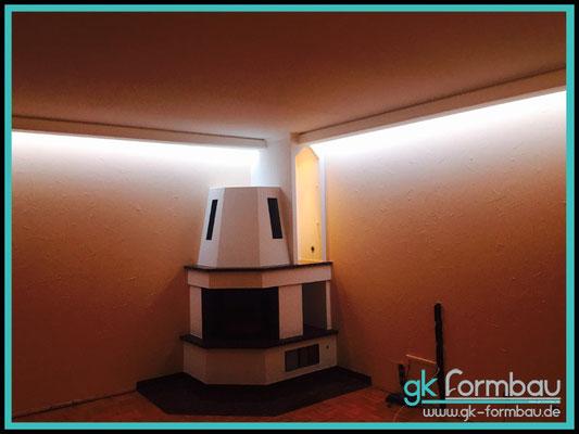 Indirekte Beleuchtung (Edle Optik aus unserem Shop)