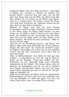 Schön schief, Eine Weihnachtsgeschichte für Kinder, Seite 2