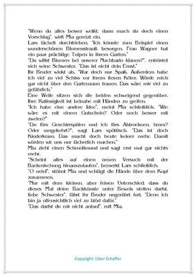 An der Backmischung führt kein Weg vorbei, Eine Kindergeschichte zum Muttertag, Seite 2
