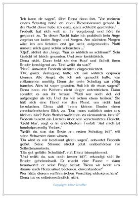 Frederick steht ein großer Tag bevor, Eine Kindergeschichte zum Schulanfang, Seite 2