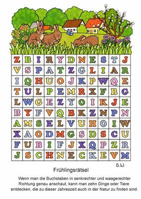 Buchstabenrätsel, Bilderrätsel