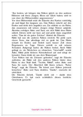 Das Überraschungsei, Eine Ostergeschichte für Kinder, Seite 2