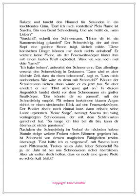 Der Schneekönig, Eine Silvestergeschichte für Kinder mit einem Schneemann, Seite 2